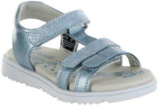 Lurchi Kinder Sandaletten blau Lederdeck Mädchen Schuhe 33-22106-32 lt. blue Ella – Bild 1