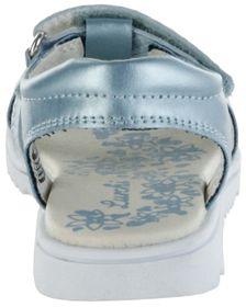 Lurchi Kinder Sandaletten blau Lederdeck Mädchen Schuhe 33-22106-32 lt. blue Ella – Bild 3