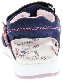 Lurchi Kinder Sandaletten blau Velourleder Lederdeck Mädchen Schuhe 33-22903-22 navy Delia – Bild 3