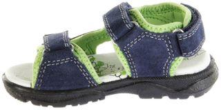 Lurchi Kinder Sandaletten blau Velourleder Lederdeck Jungen Schuhe 33-32009-22 navy Kreon – Bild 5