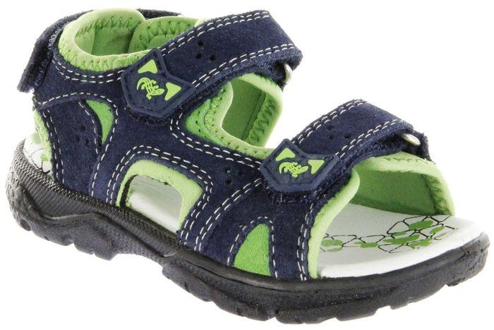 Lurchi Kinder Sandaletten blau Velourleder Lederdeck Jungen Schuhe 33-32009-22 navy Kreon