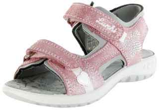 Lurchi Kinder Sandaletten rosa Leder Lederdeck Mädchen Schuhe 33-18805-43 Geranie Fia – Bild 1