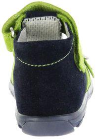 Jela Kinder Lauflerner-Sandalen blau Velourleder Jungen Schuhe 2111Z-552-7201 atlantic Terrino – Bild 3