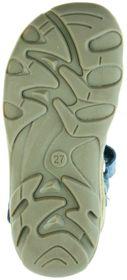 Jela Kinder Lauflerner-Sandalen beige Velourleder Jungen Schuhe 2111Z-552-0701 sand Terrino – Bild 4