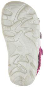 Jela Kinder Lauflerner-Sandalen pink Velourleder Mädchen Schuhe 2101Z-551-3501 fuchsia Terrino – Bild 4