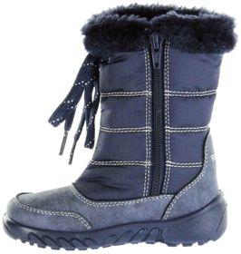 Richter Kinder Winter Stiefel blau Warm SympaTex Mädchen Schuhe 5153-641-7201 atlantic Husky – Bild 5