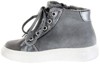 Richter Kinder Halbschuhe Sneaker grau Velourleder Mädchen Schuhe Warm RichTex 2921-641-6301 ash Ryana – Bild 5