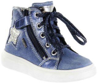 Richter Kinder Halbschuhe Sneaker blau Velourleder Mädchen Schuhe Warm RichTex 2921-641-6631 river Ryana – Bild 1