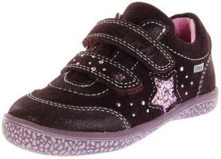 Lurchi Kinder Halbschuhe Sneaker rot Velourleder  Mädchen Schuhe 33-15287-23 burgundyTANY-TEX – Bild 1
