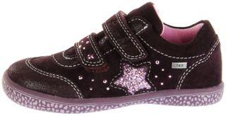 Lurchi Kinder Halbschuhe Sneaker rot Velourleder  Mädchen Schuhe 33-15287-23 burgundyTANY-TEX – Bild 2