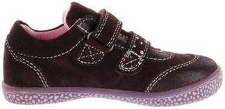 Lurchi Kinder Halbschuhe Sneaker rot Velourleder  Mädchen Schuhe 33-15287-23 burgundyTANY-TEX – Bild 5