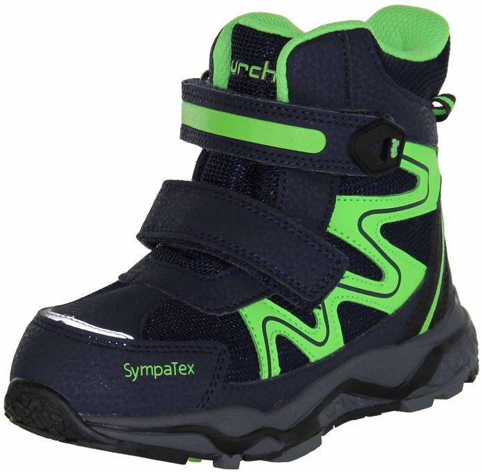 Lurchi Kinder Winter Stiefel Boots blau Jungen Schuhe 33-26601-32 navy Largo-SympaTex