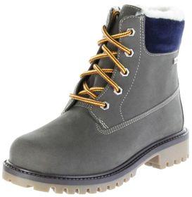 Lurchi Kinder Winter Stiefel grau  Nubukleder Jungen Boots 33-12024-25 stone ILIO-SympaTex