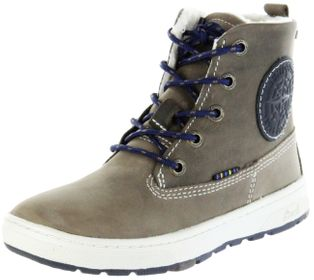 Lurchi Kinder Winter Stiefel blau Wax-Leder Jungen Boots 33-14779-49 fossil atlantic DOUG-TEX