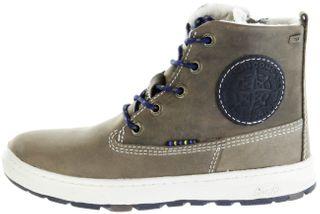 Lurchi Kinder Winter Stiefel blau Wax-Leder Jungen Boots 33-14779-49 fossil atlantic DOUG-TEX – Bild 2