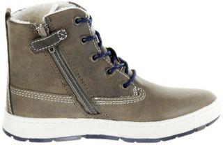 Lurchi Kinder Winter Stiefel blau Wax-Leder Jungen Boots 33-14779-49 fossil atlantic DOUG-TEX – Bild 5