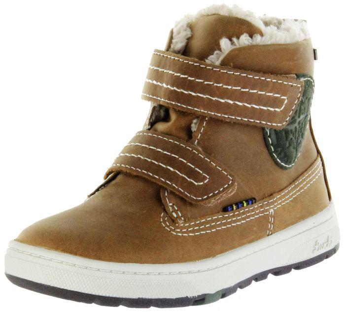 Lurchi Kinder Winter Stiefel braun Wax-Leder Jungen Boots 33-13509-24 tan DIEGO-Tex