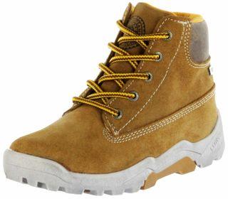 Lurchi Kinder Winter Stiefel braun Velourleder Jungen Boots 33-21535-24 tan TOM-Tex