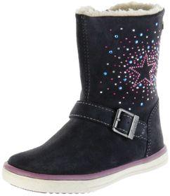 Lurchi Kinder Stiefel grau Velourleder Mädchen Schuhe 33-13672-25 charcoal SOPHIA-TEX – Bild 1