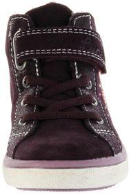 Lurchi Kinder Halbschuhe rot Velourleder warm Mädchen Schuhe 33-13649-23 burgundy SOFI-TEX – Bild 6