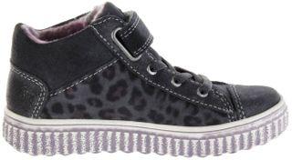 Lurchi Kinder Halbschuhe grau Velourleder warm Mädchen Schuhe 33-37002-25 charcoal YULI-TEX – Bild 5