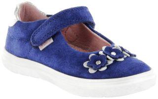 Richter Kinder Ballerinas blau Velourleder Mädchen Schuhe 4401-7111-6821 nautical ILVA – Bild 1