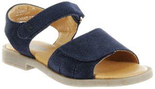Richter Kinder Sandaletten blau Velourleder Mädchen Schuhe 5405-7111-7200 atlantic Barbara  – Bild 1