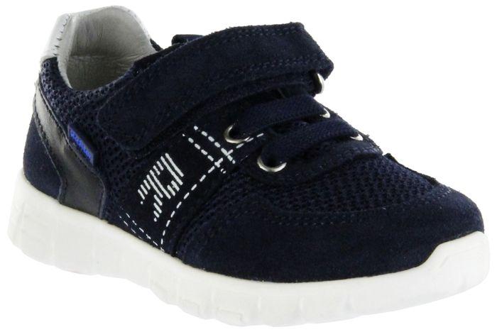 Richter Kinder Halbschuhe Sneaker blau Velourleder Jungen Schuhe 6636-7111-7201 atlantic RUN