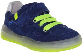 Richter Kinder Halbschuhe Sneaker Velourleder blau Jungen Schuhe 6736-7111-6821 nautical HARRY L – Bild 1
