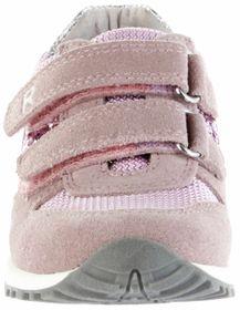 Richter Kinder Halbschuhe Sneaker rosa Leder Mädchen Schuhe 7627-7111-1101 powder JACKY – Bild 6