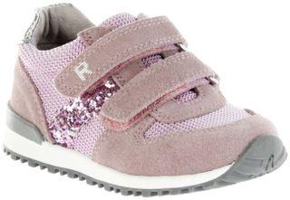 Richter Kinder Halbschuhe Sneaker rosa Leder Mädchen Schuhe 7627-7111-1101 powder JACKY