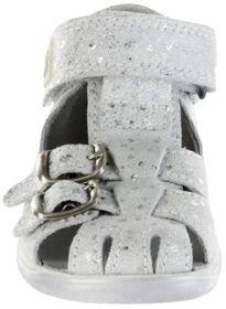 Richter Kinder Lauflerner-Sandalen Leder weiß Mädchen Schuhe 2608-7122-0100 BABEL – Bild 6