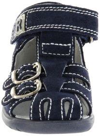 Richter Kinder Lauflerner-Sandalen blau Velourleder Jungen Schuhe 2608-7113-7200 atlantic BABEL – Bild 6