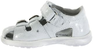 Richter Kinder Lauflerner-Sandalen Leder weiß Mädchen Schuhe 2606-7122-0100 BABEL – Bild 5