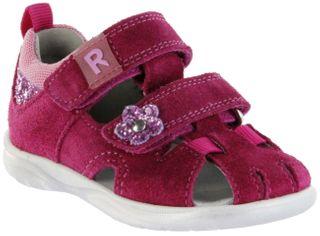 Richter Kinder Lauflerner-Sandalen pink Velourleder Mädchen Schuhe 2605-7111-7701 lampone BABEL – Bild 1