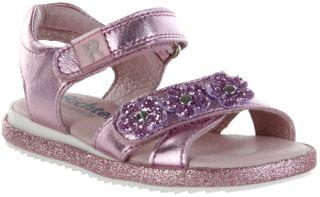 Richter Kinder Sandaletten pink Metallicleder Mädchen Schuhe 5306-7162-3110 candy ROMEA – Bild 1