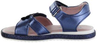 Richter Kinder Sandaletten blau Metallicleder Mädchen Schuhe 5306-7162-7200 atlantic ROMEA – Bild 5
