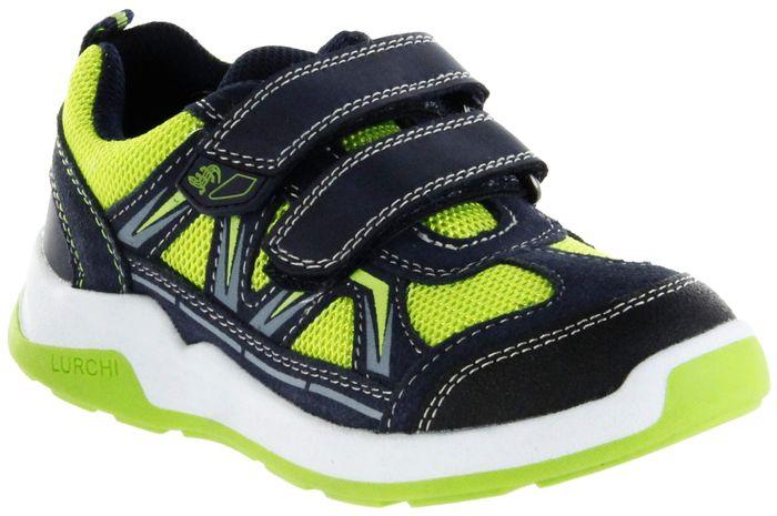 Lurchi Kinder Halbschuhe Sneaker Sportschuhe blau Jungen Schuhe 33-23414-26 grass navy MARCOS