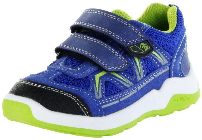 Lurchi Kinder Halbschuhe Sneaker Sportschuhe blau Jungen Schuhe 33-23414-42 royal grass MARCOS