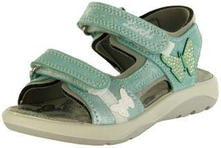Lurchi Kinder Sandaletten türkis Leder Lederdeck Mädchen Schuhe 33-18806-49 FIA – Bild 1