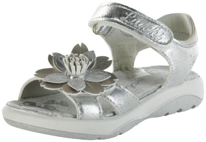 Lurchi Kinder Sandaletten silber Lederdeck Mädchen Schuh 33-18725-49 FINI