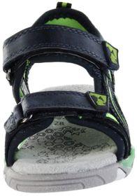 Lurchi Kinder Sandaletten blau Velourleder Lederdeck Jungen Schuhe 33-21211-42 navy green Bennet – Bild 6