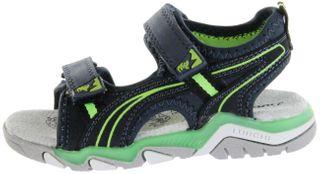 Lurchi Kinder Sandaletten blau Velourleder Lederdeck Jungen Schuhe 33-21211-42 navy green Bennet – Bild 2