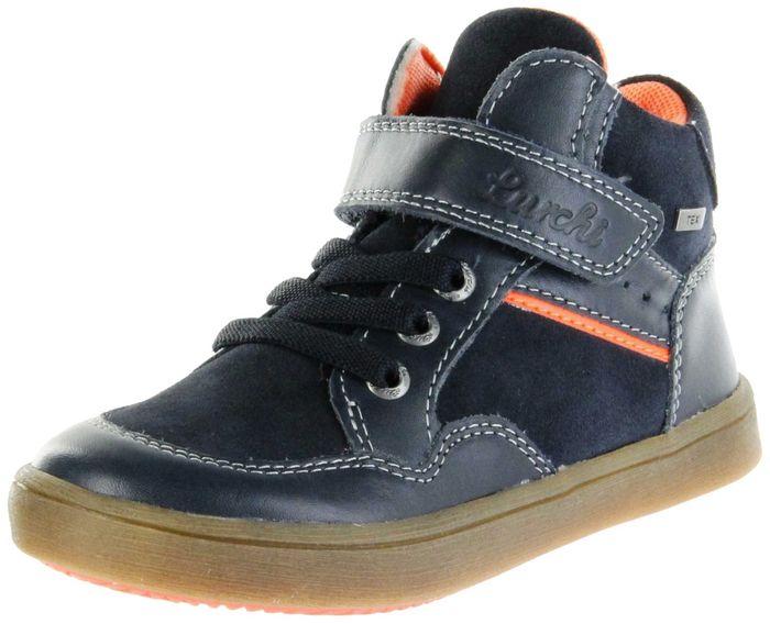 Lurchi Kinder Halbschuhe blau Leder Jungen Schuhe 33-45000-22 atlantic ALEXIS-TEX