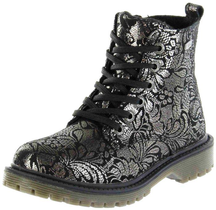 Lurchi Kinder Stiefel schwarz Velourleder Mädchen Schuhe 33-41001-21 black XERA-TEX