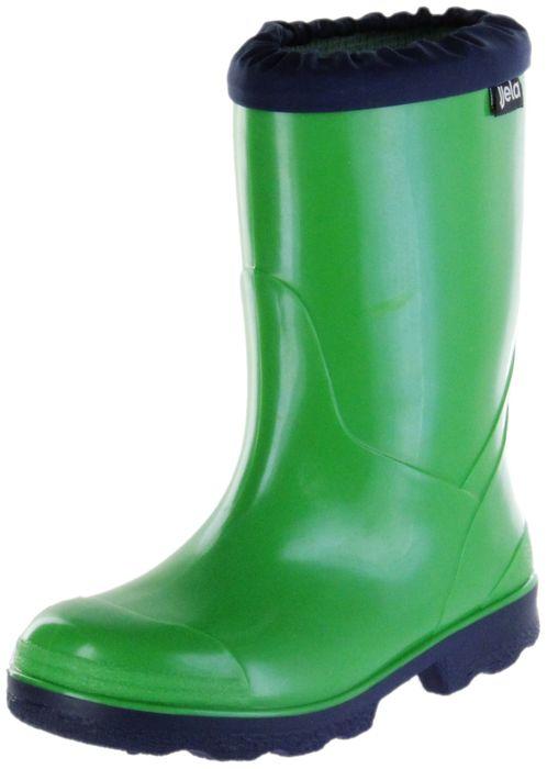 Jela Gummistiefel grün Regenstiefel Kinder Stiefel Schuhe Micki