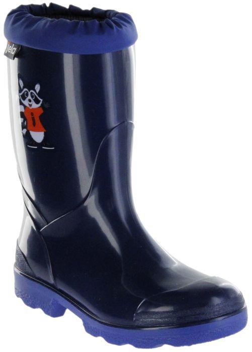 Jela Gummistiefel blau Regenstiefel Kinder Stiefel Schuhe Micki Billy Clever navy