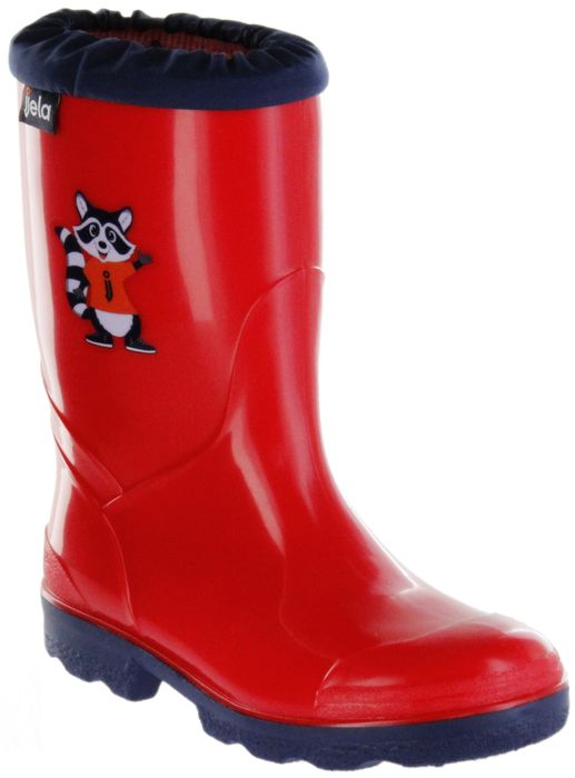 Jela Gummistiefel rot Regenstiefel Kinder Stiefel Schuhe Micki Billy Clever