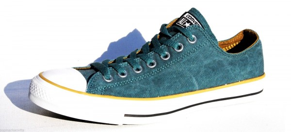 Converse CT AS Suede OX Sneaker Canvas Größe 42,5 Amarna Grün 142234C