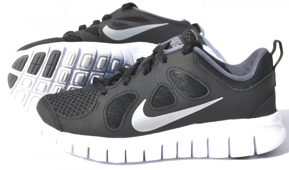 Nike Free 5.0 GS 580560 001 Laufschuh Schwarz Kinder